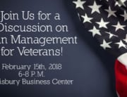 Pain Management for Veterans Event